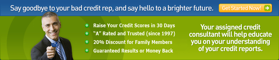 Get started now with credit repair from Credit Team USA